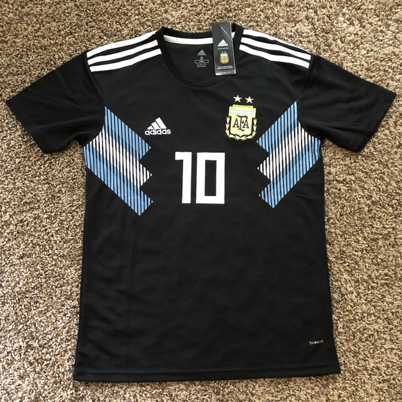 finest selection d08e2 1f232 2018 World Cup Argentina Messi Away Jersey NWT